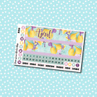 A150 April Monthly Lemons Planner Stickers for Erin CondrenHappy Planner