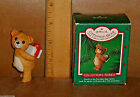 Hallmark Ornament CINNAMON BEAR Porcelain in Box No Tag Vtg 1986