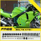 Green Fairing Bodywork Plastic Kit fit Kawasaki ZXR250 1991-1998 3 D7
