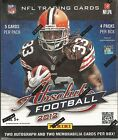 2012 Panini Absolute Football Factory Sealed Hobby Box - 4 Hits Per Box