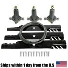 Tractor Mulching Gator Blades Belt Spindle Kit For Ariens 936060 42 Deck