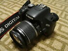 Nice Canon EOS T1i 500D 15MP Digital SLR Camera Body with 18 55mm IS Lens