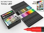 ARTOOLI Acrylic Paint Pen 30 Markers Set 07mm Extra Fine Tip For Rock painting