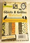 DCWV Ghosts  Goblins Paper Mat Stack 72 sheets 45 x 65 Scrapbook Pad