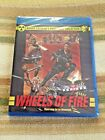 WHEELS OF FIRE Blu Ray Code Red 1984 Post Apocalyptic Mad Max Road Warrior clone