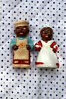 Vintage Black Chef Pappy and Mammy Salt and Pepper Shakers
