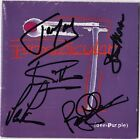 DEEP PURPLE Purpendicular FULLY SIGNED Jon Lord Smoke on the Water Ian AUTOGRAPH