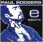 PAUL RODGERS Electric - BAD COMPANY Free Queen All Right Now CD Autograph SIGNED