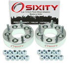 2pc 5x45 to 5x5 Wheel Spacers Adapters 15 for Mazda 5 B2000 B2200 B2600 di