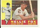 Nellie Fox Cards and Autographed Memorabilia Guide 13