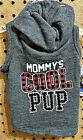 SIMPLY DOG Mommys Cool Pup Dog Puppy Hoodie Size XS or XXS