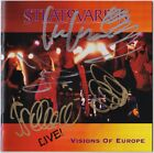 STRATOVARIUS Live Visions of Europe FULLY SIGNED Timo Tolkki Kotipelto AUTOGRAPH
