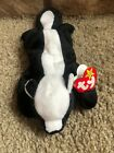 Stinky Ty beanie baby rare with errors + Skunkers Ty 2.0 unused code