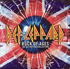 2 CD SET DEF LEPPARD ROCK OF AGES THE DEFINITIVE COLLECTION BRAND NEW SEALED