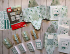 Stampin Up Pocketful of Cheer 8 greeting cards 8 gift card holders gift set