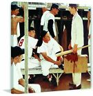 Marmont Hill The Rookie by Norman Rockwell Painting Print on Wrapped Canvas