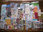 Big Scrapbooking Sticker LOT Over 100 Mixed Sheets Themes Both New