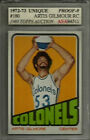 Top Budget Hall of Fame Basketball Rookie Cards of the 1970s  26