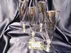 Lot of 4 Pilsner Stems SPORTSMAN by Federal Glass ~ Canada Goose
