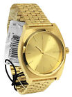 Nixon A045511 Time Teller all Gold Unisex Watch NEW