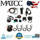 Full Electric Start Engine CDI Wiring Harness Loom Kit 110CC 125cc ATV Quad Bike