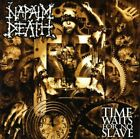 CD NAPALM DEATH TIME WAITS FOR NO SLAVE BRAND NEW SEALED