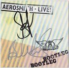 AEROSMITH Live! - STEVEN TYLER & BRAD WHITFORD Walk This Way CD Autograph SIGNED