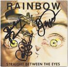 RAINBOW Straight Between the Eyes, JOE LYNN TURNER Glover +1 CD Autograph SIGNED