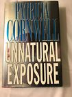 SIGNED FIRST EDITION Unnatural Exposure PATRICIA CORNWELL Kay Scarpetta