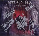 AXEL RUDI PELL Knights Call FULLY SIGNED - Bobby Rondinelli CD Rainbow AUTOGRAPH