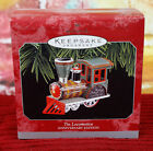 Hallmark Keepsake Ornaments, New MIB, Tin Locomotive Anniversary Edition 1998