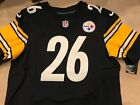 NIKE AUTHENTIC ON FIELD PITTSBURGH STEELERS LE'VEON BELL ELITE JERSEY sz 48 XL