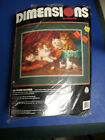 Dimensions Crewel Kit The Proud Mother Cats Kittens 1993 16 x 12