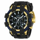 Invicta Men's 'Bolt' Quartz Stainless Steel and Silicone Casual Watch, Color:Bla