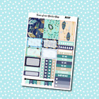 A127 Peacock Weekly Kit Planner Stickers for Erin CondrenHappy Planner