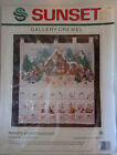Sunset Crewel NATIVITY ADVENT CALENDAR Kit 18000 Morehead Sealed
