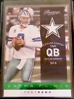 Tony Romo Football Cards, Rookie Cards and Autographed Memorabilia Guide 13