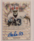Andre Reed Cards, Rookie Card and Autographed Memorabilia Guide 32
