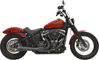 Bassani Black Road Rage 2 1 Exhaust System for 18 20 Harley Softail FXLR FXBB