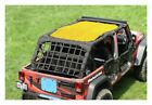 Steinjager Full TeddyTop Solar Screen Yellow Wrangler JK 4dr J0043701