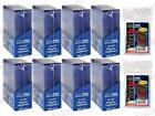 Ultra Pro 200 Free Sleeves Toploaders Standard Top Load Lot Prevents Damage New