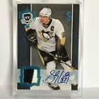 2007-08 UD THE CUP #21 SIDNEY CROSBY AUTHENTIC GAME USED PATCH AUTO - 1 1 1of1