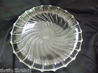 Vintage Clear Clear Glass Platter 11