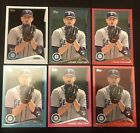 James Paxton RARE 2014 Topps Rookie RC Lot Yankees CLEAR 10 BLACK PINK RED + HOT