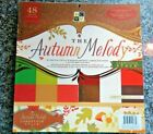 DCWV Autumn Melody Solids Paper Stack 12 x 12 Scrapbook Pad