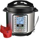 Potastic 6Qt 10-in-1 Programmable Electric Pressure Cooker,LCD...