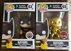 Funko Pop! Set of 2 Batgirl Exclusives Pop Heroes #3 Gold Gamestop EB Exclusive