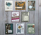 8 Handmade Sympathy greeting cards envelopes Stampin Up + more