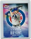 2013 Bowman Chrome Kris Bryant Autograph Lands in 2014 Bowman Inception 4