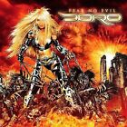 CD DORO FEAR NO EVIL BRAND NEW SEALED SONG WITH TARJA TURUNEN